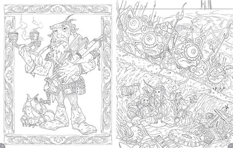 dungeons and dragons coloring book dungeons dragons coloring book