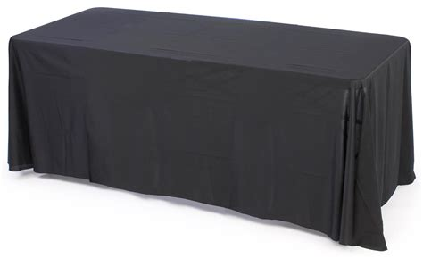 tablecloth for 8 foot table this in stock table skirt for 8 foot surfaces is subtle