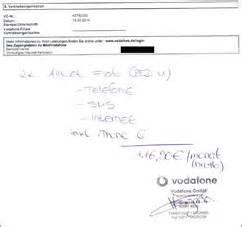 Meine Vodafone Rechnung Einsehen : vodafone handschrift001 ~ Themetempest.com Abrechnung