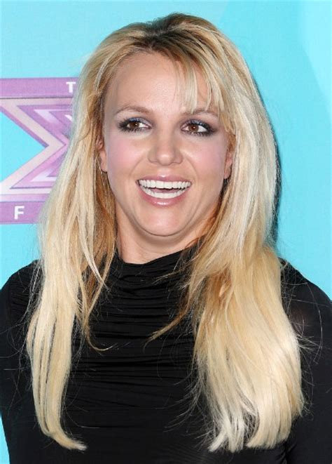 britney spears layered long hairstyle  bangs
