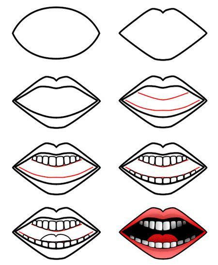 drawing  cartoon mouth