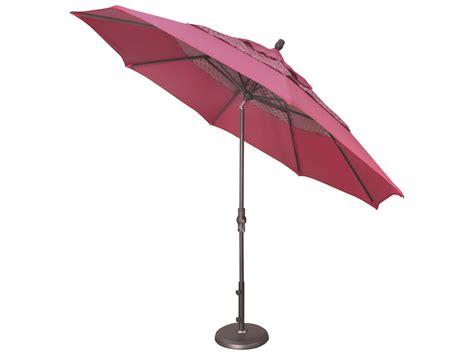 11 patio market umbrella with tilt 11 auto tilt octagon