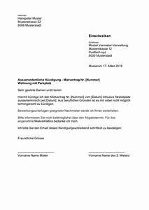 Kündigungsfrist Mietvertrag Beispiel : k ndigung wohnung mietvertrag vorlage kostenlose musterbriefe ~ Yasmunasinghe.com Haus und Dekorationen