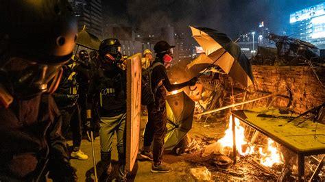 china condemns   hong kong  wont stop trade talks   york times