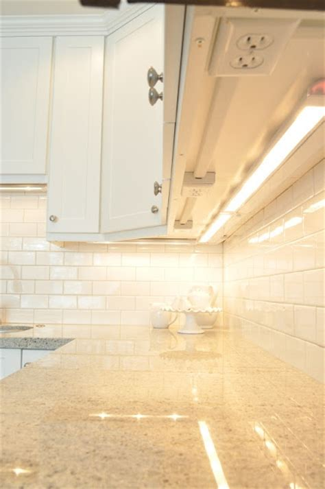 under cabinet lighting with outlets under cabinet power outlets design ideas