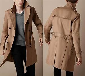 Trench Coat Homme Long : trench coat homme un manteau porter avec soin ~ Nature-et-papiers.com Idées de Décoration