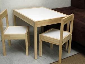 Table Et Chaise Pour Bébé : customiser un meuble pour votre enfant et avec lui une table et des chaises ~ Farleysfitness.com Idées de Décoration