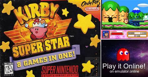 Play Kirby Super Star On Super Nintendo