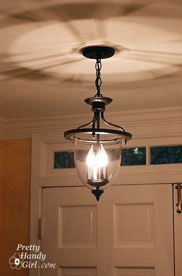 newold foyer light brass fixture spray painted