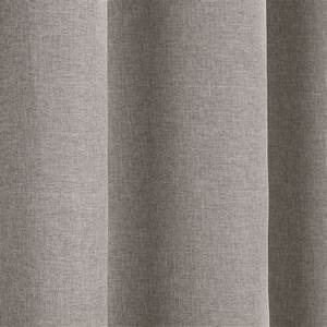 Textured woven plain thermal blackout linen look eyelet for Window curtains texture