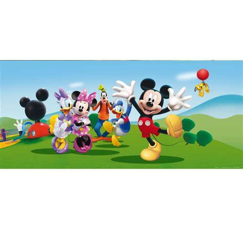 poster g 233 ant horizontal mickey papier peint 202x90 cm