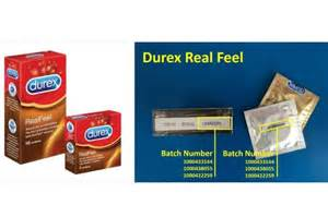 Durex Recalls Batch Of Real Feel Condoms In Singapore And