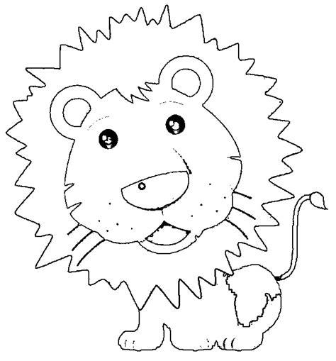 cute lion preschool coloring pages  printable coloring