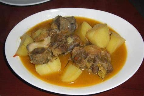 potasse cuisine africaine bouillon de queue de boeuf cameroun cuisine africaine