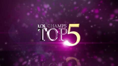 [Ongamenet] LOL Champions Top5 week7+BONUS - YouTube