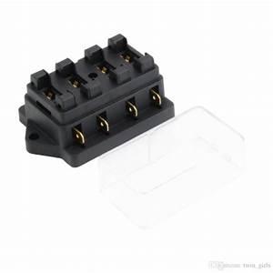 Discount 4 Way Fuse Box Dc 12v 24v Max Dc 32v Circuit Car