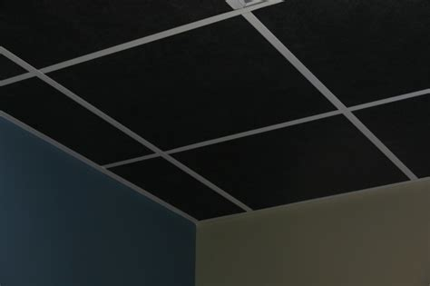 black acoustical ceiling tile soundacousticsolutions com
