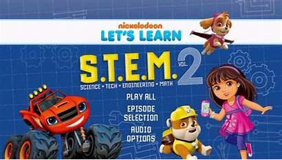 Nickelodeon Learn Let Dvdtalk Volume Dvd Stem
