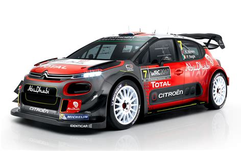 Citroen Rally by Citro 235 N Unveils World Rally Car For 2017 Aol Uk Cars