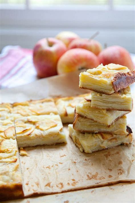 Apple Custard Bars  The O'jays, Baking And Manners