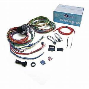 15 Fuse Complete Nose To Tail Gm Wiring Harness 12v Fuse