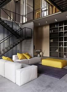 Deco Style Industriel : d co style industriel dans un appartement l gant ~ Melissatoandfro.com Idées de Décoration