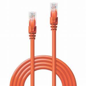 0 3m Cat6 U  Utp Gigabit Network Cable  Orange