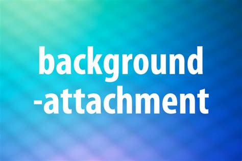 Css Background Attachment Background Attachmentプロパティの意味と使い方 Css できるネット