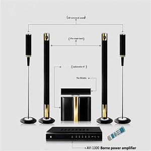 HIFI 5.1 wireless home theater system Powerful 600 800W ...
