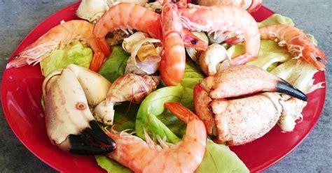 cuisiner les bulots ma cuisine facile assiette de fruits de mer pinces de