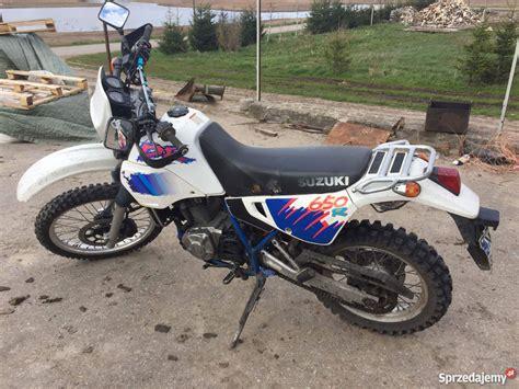 1994 Suzuki Dr650 by Suzuki Dr 650 1994r Polecam Florczaki Sprzedajemy Pl