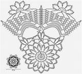 Doily Pattern Crochet Doilies Patterns Pretty Diagram Chart Motif Christmas Oval Charts Nice Very схема Stunning Crochetkingdom Schema Diagramme sketch template