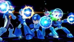Super Smash Bros Includes Five Mega Man Iterations In His