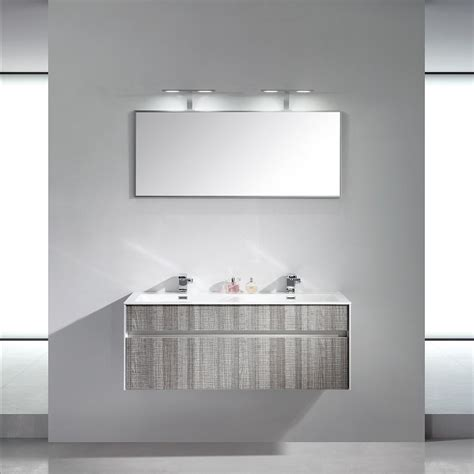 lusso stone encore double designer wall mounted bathroom