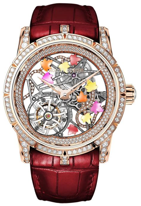 Roger Dubuis Matic Brown Rubber roger dubuis archives luxury watches