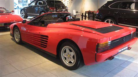 classic ferrari testarossa 1989 ferrari testarossa convertible review top speed