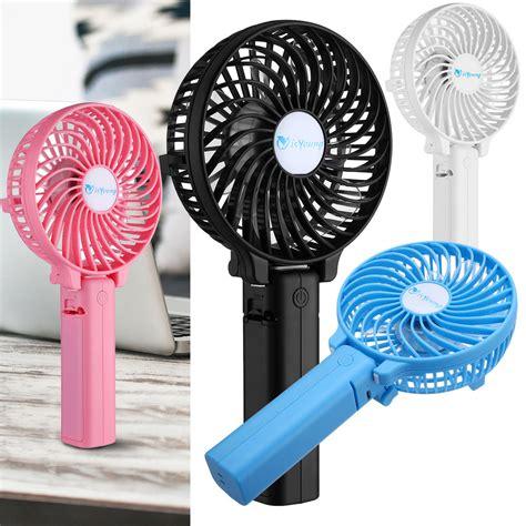 battery operated outdoor fan mini portable outdoor foldable handheld fan