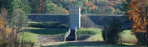 barre falls dam visit north central