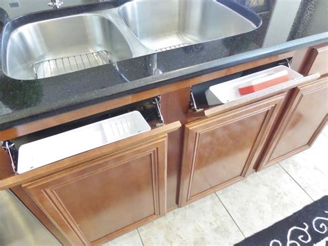 sink tip out tray how to install a sink front tip out tray be my guest