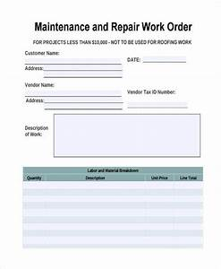 automotive repair orders templates 28 work order templates ai psd free premium templates