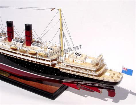 Rms Lusitania Wreck Model by Model Ship Rms Lusitania