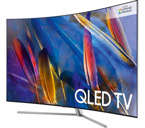 samsung qled 65 buy samsung qe65q7camt 65 quot smart 4k ultra hd hdr curved