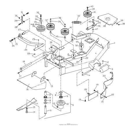 Husqvarna Zthql Parts Diagram For