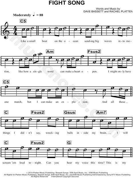 Free violin sheet music lessons free violin sheet music. Fight Song sheet music by Rachel Platten and other pop songs on violin   Chime Time in 2019 ...