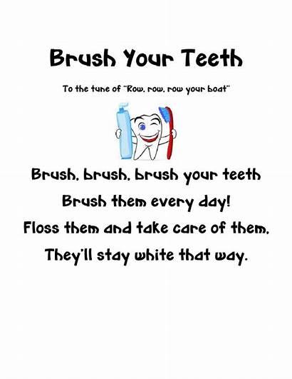 Teeth Song Dental Tooth Health Preschool Brush