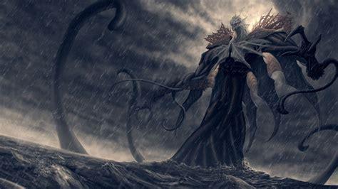 wallpaper drawing kraken fantasy art cloud darkness