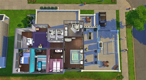 factory converted home sims 4 houses