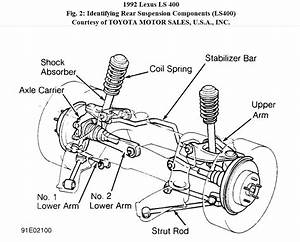 Lexus Rear Suspension Diagram  Lexus  Auto Parts Catalog