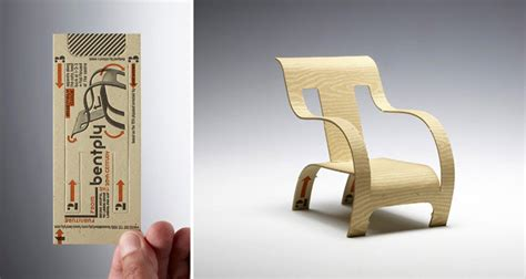 creative  unique business cards  stand