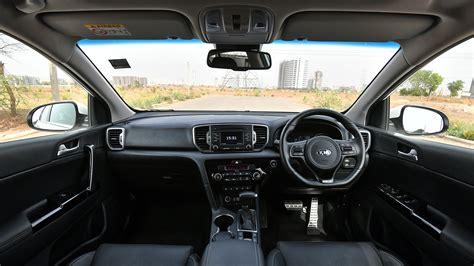 kia sportage  gt  interior car  overdrive